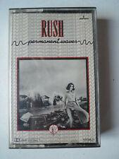 RUSH Permanent Waves  Original Tape Cassette Mercury 7142 720
