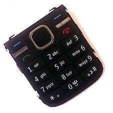 100% Originale Nokia c5-00 frontale TASTIERINO NUMERICO pulsanti tasti di chiamata di alimentazione del Menu Nero