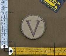 "Ricamata / Embroidered Patch Devgru ""Lambda"" with VELCRO® brand hook"