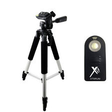 "57"" Pro Tripod + Wireless Remote for Nikon D5500, D5300, D5100, D5200 SLR"