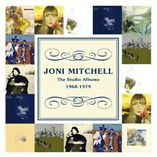 Joni Mitchell - Studio Albums 1968 - 1979 [New CD] Boxed Set
