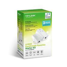 TP-Link AV600 Passthrough Powerline Starter Kit NEW