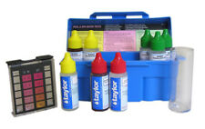 Taylor Swimming Pool & Spa Water 4-In-1 Chlorine Bromine pH Test Kit | K-1003