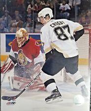 SIDNEY CROSBY Pittsburgh Penguins #87 Unsigned 8 X 10 Photo (vs OTT)