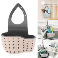 Hanging Home Kitchen Sponge Drain Bag Basket Bath Storage Tools Sink Holder Jian