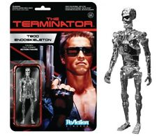 Chrome T800 Endoskeleton Terminator Funko Super7 Reaction Movie Action Figure