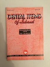 Dental Items of Interest n°2 A monthly Journal February 1938
