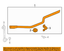 GM OEM Stabilizer Bar-Rear-Stabilizer Bar 84213410