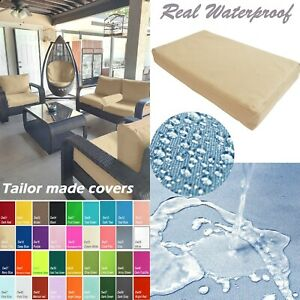 TAILOR MADE COVER*Patio Bench Cushion Waterproof Outdoor Swing Sofa Daybed Dw14