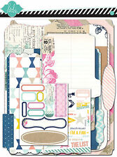 Heidi Swapp HELLO TODAY Memory Files Kit scrapbooking FILES STICKERS RUBONS ETC.
