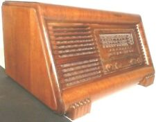 vintage ART DECO CLASSIC - PHILCO 41-255 AM RADIO w/ CLAW FEET - Working AM