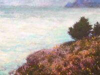 California Big Sur  Realism Landscape OIL PAINTING ART IMPRESSIONIST Original
