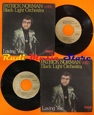 LP 45 7'PATRICK NORMAN BLACK LIGHT ORCHESTRA Loving you 1978 italy RCA cd mc dvd