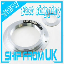 EMF AF III Confirm M42 Lens To Canon EOS adapter 6D 70D 70D 7D non-flange