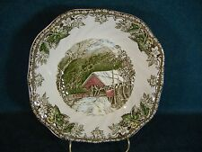 Johnson Brothers The Friendly Village Square Cereal Bowl -Covered Bridge England