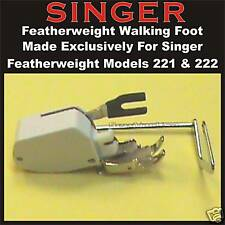SINGER Sewing Machine Featherweight 221 & 222 NEW Walking Even Feed Foot Feet