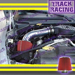 97 98 99-03 DODGE DAKOTA DURANGO 3.9L V6 5.2 5.9L V8 AIR INTAKE KIT Black Red V2