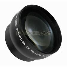 55mm 2.0X TELE Telephoto Lens for Digital Camera 2X 55