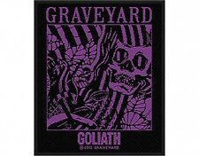 GRAVEYARD goliath 2014 - WOVEN SEW ON PATCH official merchandise