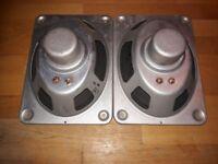1 Lautsprecher Paar aus Imperial 609T Stereo Röhrenradio