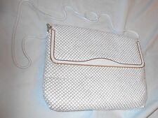 Evening handbag  Beige Metallic Mesh  19in Hang Strap