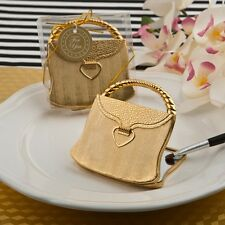 40 Elegant Reflections Gold Purse Compact Mirror Wedding Shower Party Gift Favor