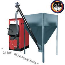 Pelletkessel  ORLIGNO Pellet 100 (24 kW) BAFA Förderfähig