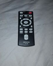 Original Denon Audio System Remote Control RC-1088 Black