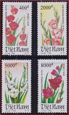 VIETNAM 1450/1453** Fleurs GLAIEUILS 1994 Vietnam 2512-2515 Flowers gladiolus NH