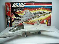 D1530251 SKYSTRIKER F-14 WHITE MIB STYLE G.I. JOE 1983 ORIGINAL 100% COMPLETE