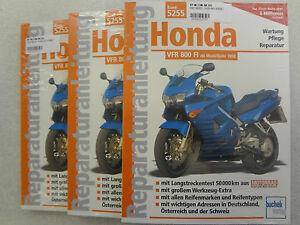 Reparaturanleitung, Werkstatthandbuch HONDA VFR 800 FI, RC46, 98-01, Band 5255