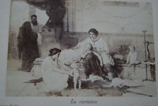 LA RECREATION JOSEPH COOMANS TABLEAU CARTE ALBUM  PHOTO GOUPIL N°24