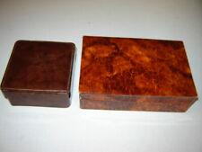Metallbeschläge Holz grün neu Vintage Schatulle Kästchen Kasten Box Kiste