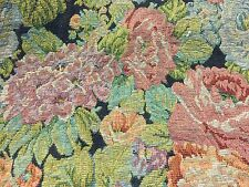 DESIGNER  TAPESTRY UPHOLSTERY & CLOTHING FABRIC FLORAL