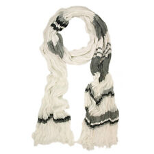 Premium Multi Striped Ruffle Scarf - Different Colors Available
