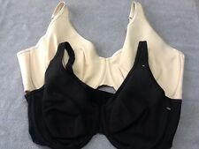 Unlined Full Coverage Bra Cotton WHITE BEIGE BLACK Cacique Lane Bryant 342543