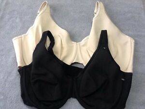 Unlined Full Coverage Bra Cotton BEIGE or BLACK Cacique Lane Bryant 342543 NWOT
