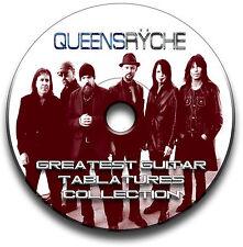 QUEENSRYCHE HEAVY METAL ROCK CHITARRA INTAVOLATURE CANTO BOOK CD SOFTWARE