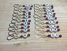 Row Counter Stitch Markers for Knitting & Crochet- Removable Number Markers 1-20