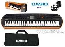 Casio Sa-76 - Pianola Musicale per Bambini