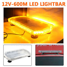 Permanent mount 12v 48v car safety beacons lights ebay uk recovery light bar 600mm 1224v flashing beacon truck light strobes amber led aloadofball Choice Image