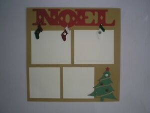 Christmas 2 #404 premade scrapbook pages