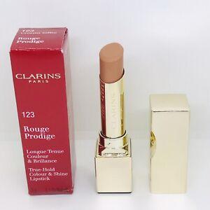 Clarins Rouge Prodige True-Hold Colour & Shine Lipstick 123 Creamy Toffee