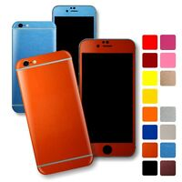For iPhone 6S & 6S Plus GLOSSY Wrap Sticker Decal Cover Protector Skin