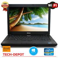 """Dell Latitude E6410 Laptop Core i5 2.4GHz 4GB RAM 1TB HD DVD 14.1"""" Windows 10 PC"""