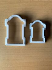 Halloween Grave Stone Icing or Cookie Cutters