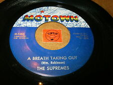 THE SUPREMES - A BREATH TAKING GUY - ROCK AND ROLL  / LISTEN - MOTOWN POPCORN