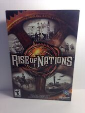 Rise of Nations PC-CD ROM. Windows XP, 2000, ME, 98.