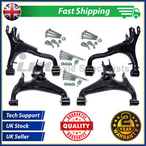 Fits Land Rover Discovery3 Rear Left+Right Upper+lower Suspension Arms +bolts