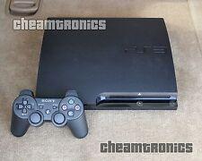 Sony PlayStation 3 Slim 120GB - System Firmware PS3 3.55 Original - VG Condition